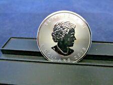 1 - 2018 Canadian Silver Maple Leaf 5 Dollar coin 1 Troy oz  BU Upper Grade