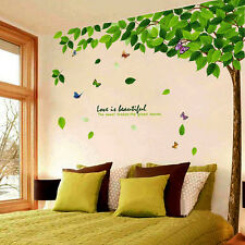 Removable Tree Art Vinyl DIY Flower Wall Sticker Decal Mural Room Home Decor NEW