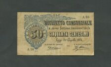 More details for italy 50 centesimi 1874  krause 1  banknotes