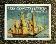 2012USA #4703a Forever - War of 1812 - USS Constitution - Single (IMPERF)