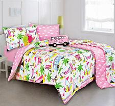 Kas kids Beach holiday quilt cover set doona duvet size SINGLE +1 x pillowcase-1