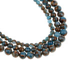 Round Natural Agate Beads for Jewelry Making Semi Precious Gemstone 6mm-10mm