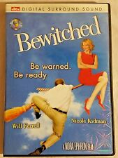 Bewitched (DVD, 2005) Digital Surround Sound Widescreen Edition