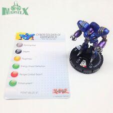 Heroclix Yu-Gi-Oh! Series 1 set Cyber Soldier of Darkworld #003 Common w/card!