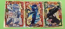 Lego® Ninjago™ Serie 1 Trading Card LE 2 Zane LE 3 NRG JAY LE 10 Böser Wu