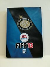 FIFA 13 INTER STEELBOX STEELBOOK, NO GAME, NO GIOCO, NEW, NUOVA