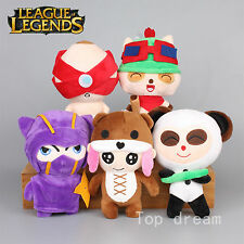 5X League of Legends LOL Teemo Annie Kennen Panda Plush Toy Soft Stuffed Doll
