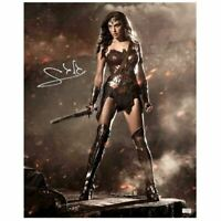 Gal Gadot Autographed Batman vs Superman Wonder Woman 16×20 Photo
