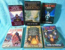 Bundle Fantasy books Terry Goodkind Adrian Cole Gemmell Feist Voigt