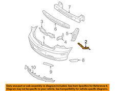 MAZDA OEM 04-09 3 Rear Bumper-Support Bracket Left BP4K502J1D