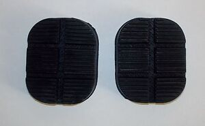 FIAT 124 BN - SPECIAL/ KIT COPRIPEDALI/ PEDALS COVER SET