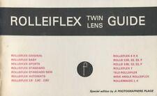 Rollei Rolleiflex Twin Lens Guide, All Models: Focal Press 1980