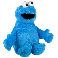 "Sesame Street  Cookie Monster 13 "" Inch Plush Stuffed Toy New Good Buddy NWT"