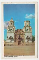 Arizona AZ Mission San Xavier Del Bac Tucson Postcard Old Vintage Card View Post