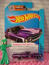 Case J/K 2015 i Hot Wheels '71 EL CAMINO #18∞Purple;Ed Pink's Garage∞Performance