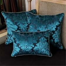 Pillowcase Luxury European Velvet Jacquard Fabric Cushion Cover Home Textiles