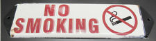 NEW PAINTED PORCELAIN LOOK NO SMOKING SIGN PLAQUE -G1