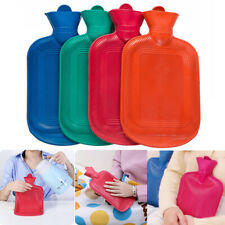 THICK Rubber HOT WATER BOTTLE Bag WARM Relaxing Heat Therapy Cold Large SAL B9O7