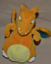 "5"" Charizard # 006 Pokemon Plush Dolls Toys Stuffed Animals Fire Dragon Pouch"