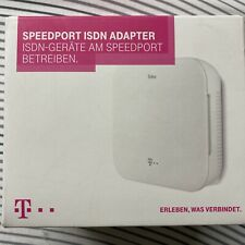 Speedport ISDN Adapter Telekom weiß