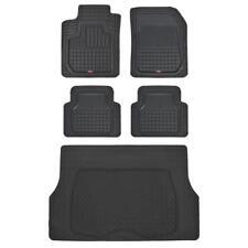 Motor Trend Rubber Semi-Custom Floor Mats & Cargo Liner for Nissan Chevy Ford