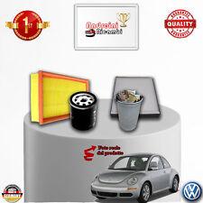KIT TAGLIANDO 4 FILTRI VW NEW BEETLE 2.0 85KW 115CV DAL 2007 ->