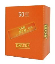 Job King Size Finest Quality Cigarette Rolling Paper Pack of 50 Booklets