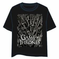 T-Shirt Game of Thrones Swords - Taglia L NUOVA SIGILLATA