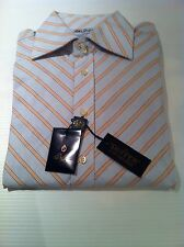 BNWT Duffer of St.George Long Sleeved Striped Shirt Size L