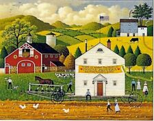 Charles Wysocki Hand Signed and Numbered Print THE AMISH WAY #1873/2000 SUMMER