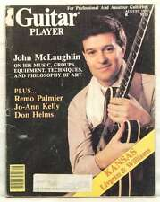 GUITAR PLAYER MAGAZINE JOHN MCLAUGHLIN DON HELMS REMO PALMIER JO ANN KELLY RARE