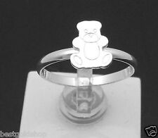Sterling Silver 1.3g One Size Fits All Adjustable Teddy Bear Toe Ring Solid 925