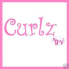 Sizzlits Curlz Alphabet 35 dies #654547 Retail $149.99 RETIRED, Curly, Girly!!