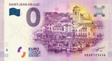 Billet Touristique 0 Euro - Saint Jean de Luz - 2016-1