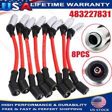 Spark Plug Wires For CHEVY Silverado 1500-2500 99-06 LS1 VORTEC 4.8L 5.3L 6.0L