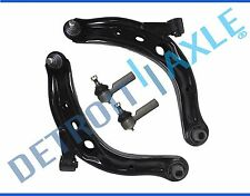 New (2) Lower Control Arms + (2) Outer Tie Rod End Links for Ford Escape