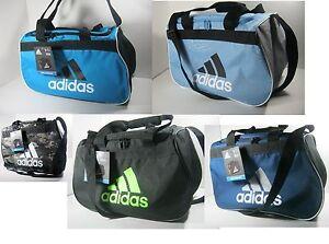 "Adidas Diablo Small Duffel Gym Bag Travel Camp 18.5""x 11"" x 10"" Selected Color"