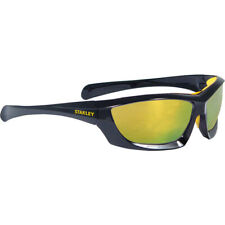 NEW Stanley Full Frame Safety Glasses with Padded Brow Guard Fire Mirror