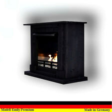Chimenea Firegel Caminetti Fireplace Etanol Emily Gelkamin Deluxe Royal Negro