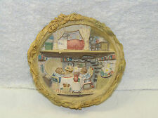 BRAMBLY HEDGE BORDER FINE ARTS BFA HARVEST MICE PLAQUE BH105 WITH GOLD LABEL