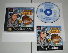 PS1 Playstation 1 INSPECTOR GADGET GADGET'S CRAZY MAZE OTTIMO PsOne PAL