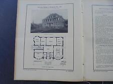 1912 Bau-Woche 31  / Ründeroth Rathaus