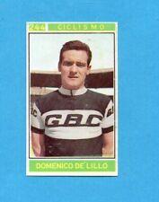 CAMPIONI dello SPORT 1967/68-Figurina n.244- DE LILLO -CICLISMO-Recuperata