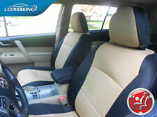 Coverking Neosupreme Custom Tailored Front Seat Covers for Toyota Highlander