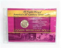 1964 Kennedy Silver Half Dollar - Part of America's 20th Century Silver Coins