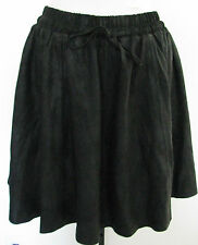 2ND DAY Black MORGAN Leather Skirt Size 36,NWT $400.00!