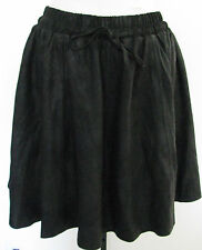 2ND DAY Black MORGAN Leather Skirt Size 34, NWT $400.00!