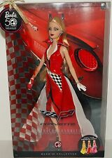 BARBIE DOLL CORVETTE AMERICAN FAVORITES 50TH ANNIVERSARY DOLL, NRFB COLLECTOR