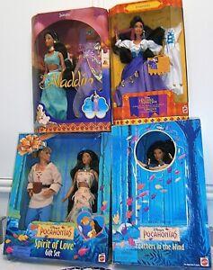 Barbie Mattel Disney doll Phoebus Esmeralda Gipsy Jasmine Holiday Mockingjay II