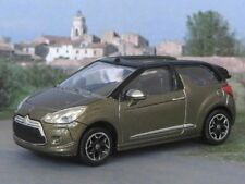 2012 CITROEN DS3 CABRIO 1:64 (Mocca Brown) Norev/DS MIP Car